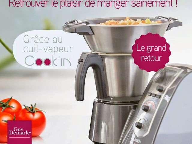 Recettes de cuisine la vapeur de 100 gourmande for Cuisine a la vapeur