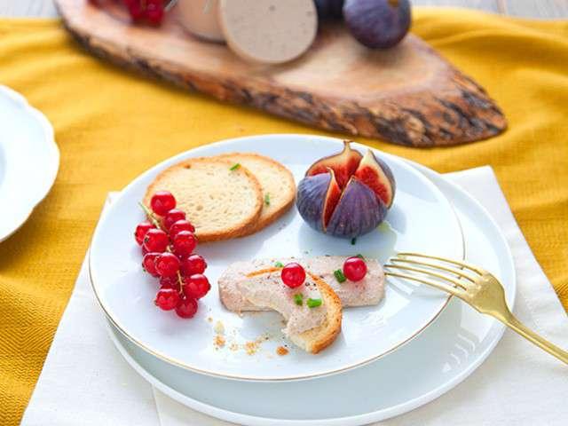 recettes de foie gras de 100 v g tal. Black Bedroom Furniture Sets. Home Design Ideas