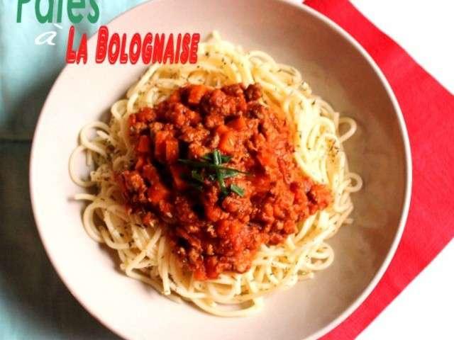 recettes de p 226 te 224 la bolognaise