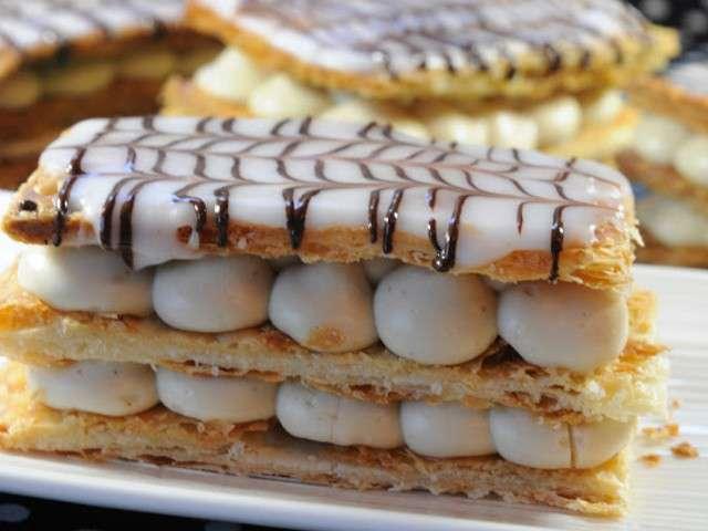 Recettes de mille feuilles de 13 desserts chacun - 13 desserts de noel recettes ...