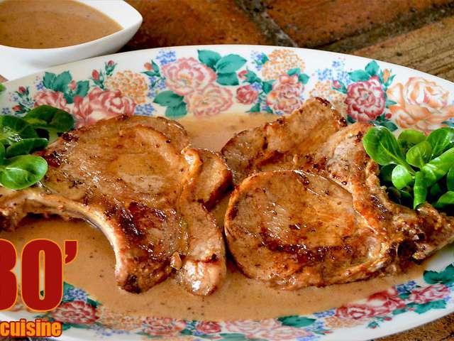 Recettes de porc et c te de porc - Cuisiner des cotes de porc ...