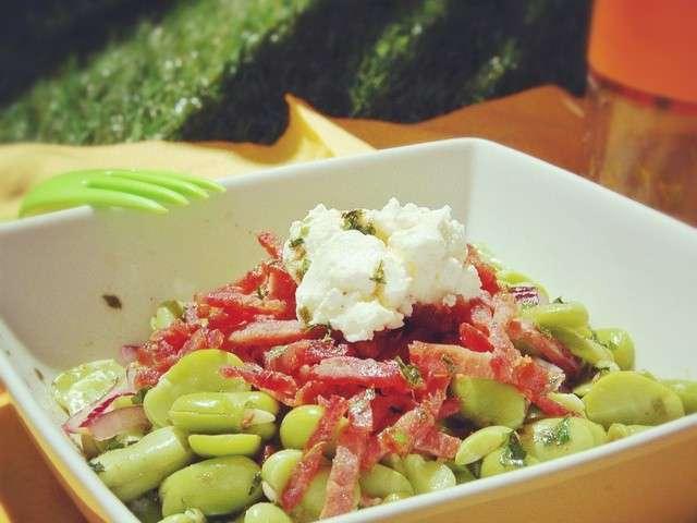 Les meilleures recettes de f ves et salades - Recette fraiche pour l ete ...
