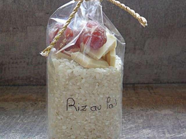 Recettes de cadeau gourmand 18 - Riz au lait maison ...