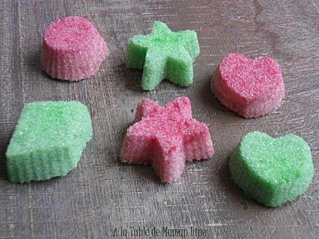 recettes de sucres colore