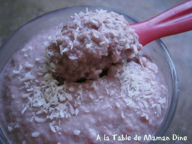 Recettes de dessert v g talien de a la table de maman dine for La table a dessert