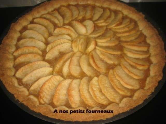 Recette pate a tarte au pomme 28 images recette tarte - Tarte aux pommes compote maison ...