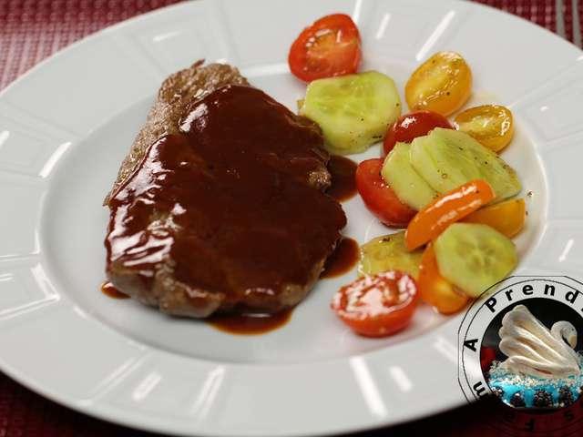 Recettes de bbq - Steak d espadon grille sauce combava ...