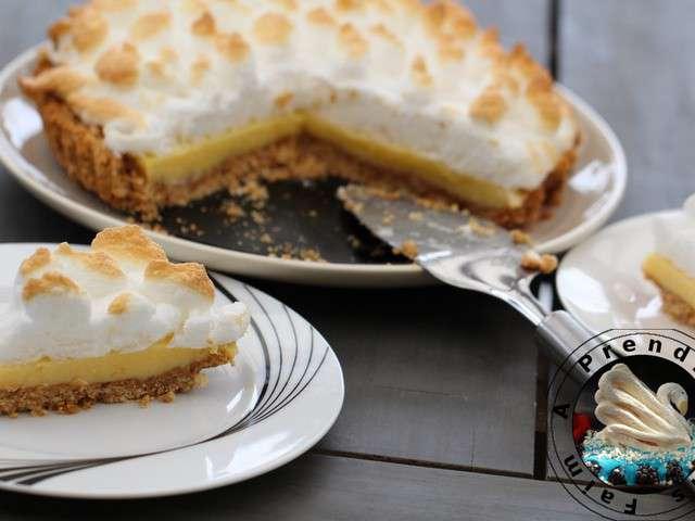 Recettes de tarte rapide - Recette tarte au citron sans meringue ...