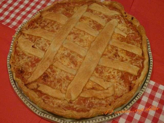 recettes de tarte au thon et p 226 te bris 233 e