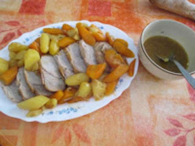Recettes de r ti de veau et carottes - Comment cuisiner un roti de veau ...