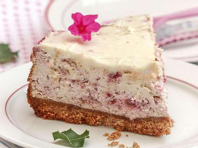 Recettes de cheesecake et framboises 3 - Very parfait chocolat blanc ...