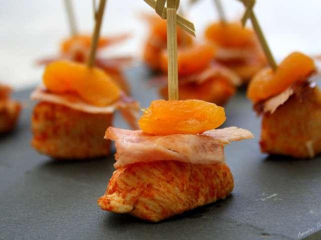 Recettes d 39 abricot 44 - Brochettes aperitives sans cuisson ...