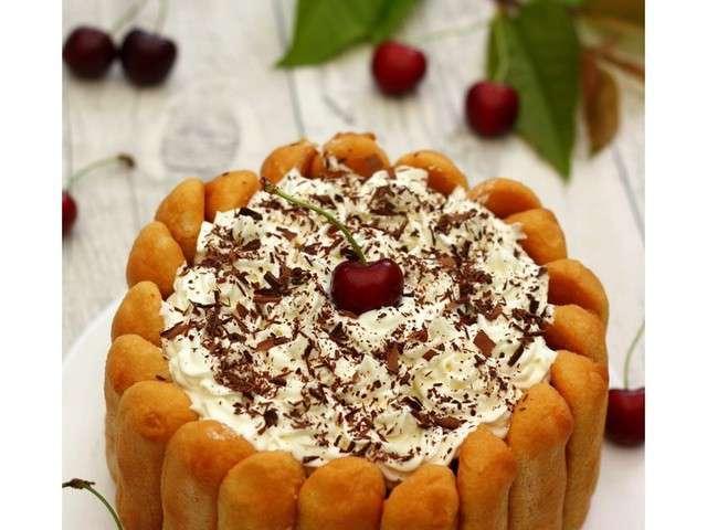 Recettes de charlotte au chocolat et cerises - Recette charlotte au chocolat ...