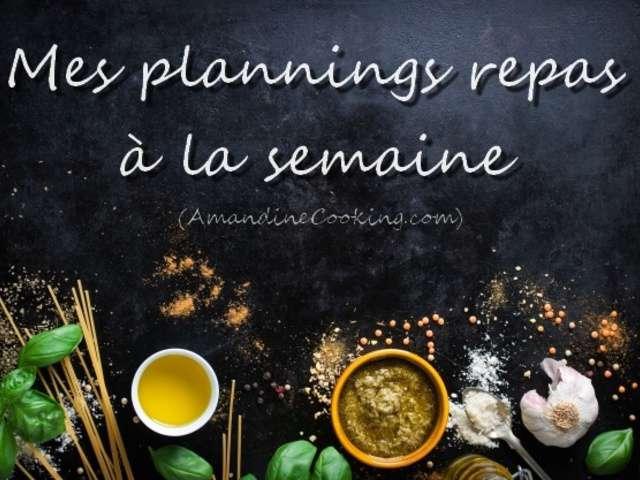 Recettes de Amandine Cooking