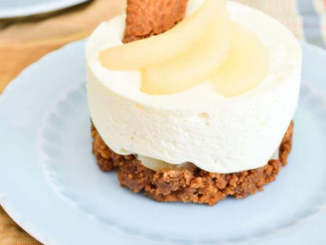 Recettes de sp culoos et cheesecake - Cheesecake sans cuisson speculoos ...