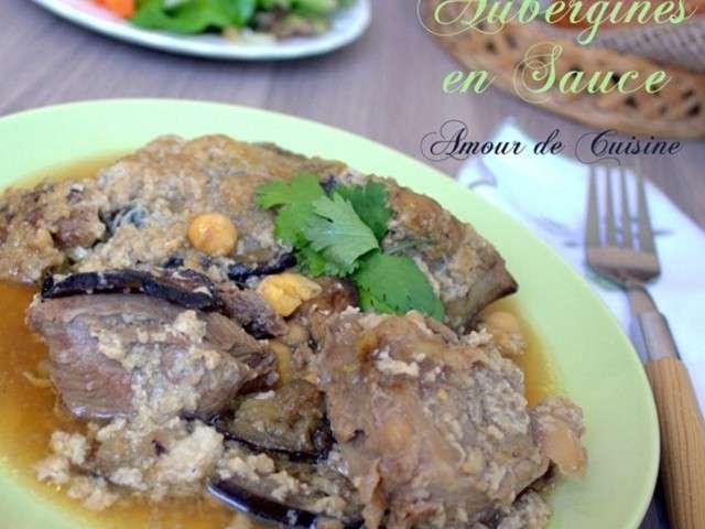 Recettes d 39 aubergines et plats 5 for Amoure de cuisine chez ratiba