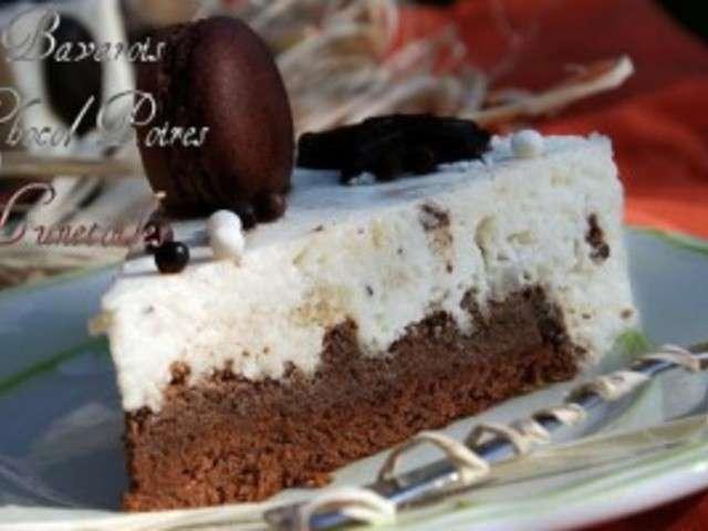 Bavarois chocolat poires for Amour de cuisine chez soulef