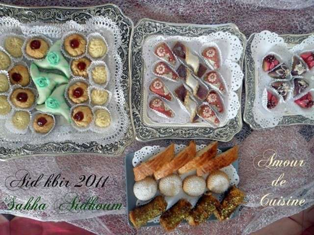 Gateau traditionnel algerien benberim