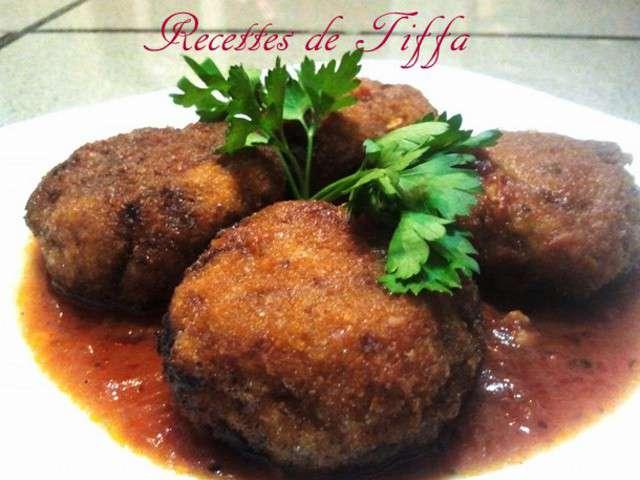 Recettes de bouchees et boulettes for Amoure de cuisine chez ratiba