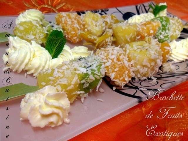 Recettes de fruits exotiques de amour de cuisine chez soulef for Amour de cuisine chez soulef 2012