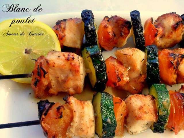Recettes de simple et brochettes - Amour de cuisine chez ratiba ...