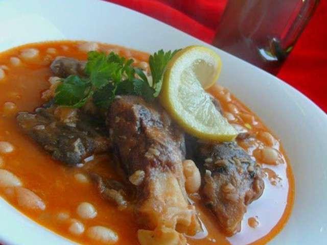 Cassoulet d haricots blanc aux pieds de mouton loubia bel for Amoure de cuisine chez ratiba