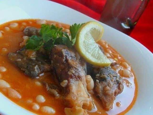 Recettes de pieds et haricots for Amoure de cuisine chez ratiba