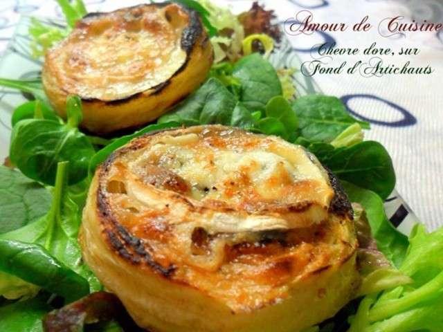 Recettes d 39 artichauts et ch vre 4 for Amour de cuisine de soulef