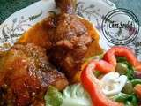 Chilli hot chicken..... poulet piquant au four