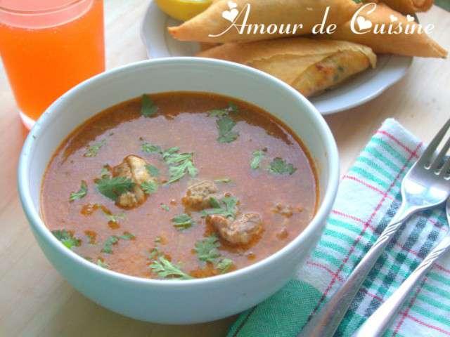 Recettes de chorba de amour de cuisine chez soulef for 1 amour de cuisine chez soulef