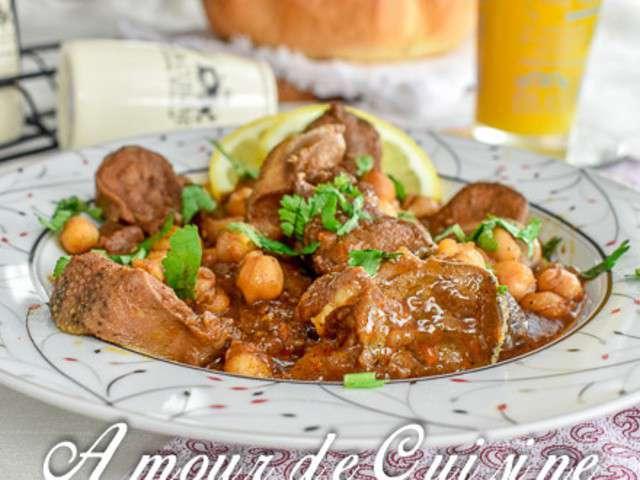 Recettes de langue d 39 agneau for Amoure de cuisine chez ratiba