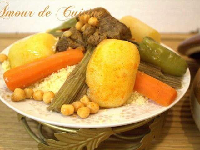Recettes de cardon et couscous aux cardons - Un amour de cuisine chez soulef ...