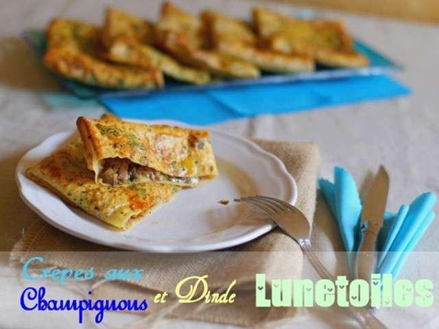 Recettes de p te cr pes et champignons for Amour de cuisine chez lila