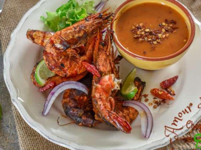 Recettes d 39 entree chaude et crevettes for Amoure de cuisine chez ratiba
