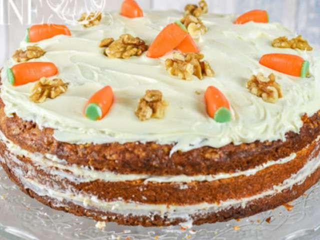 Recettes de carrot cake et go ter - Recette carrot cake americain ...