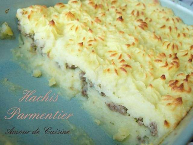 Recettes de parmentier de amour de cuisine chez soulef for Amour de cuisine de soulef
