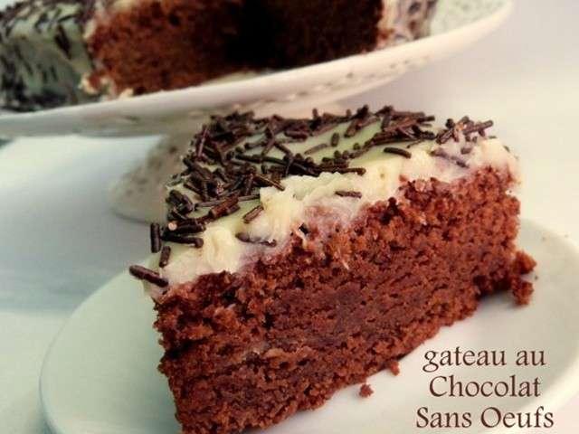 Les meilleures recettes de cuisine sans oeuf et fondant Fondant au chocolat sans oeufs
