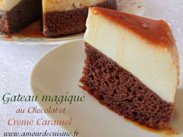 Les Meilleures Recettes de Gâteau magique et Chocolat - 2