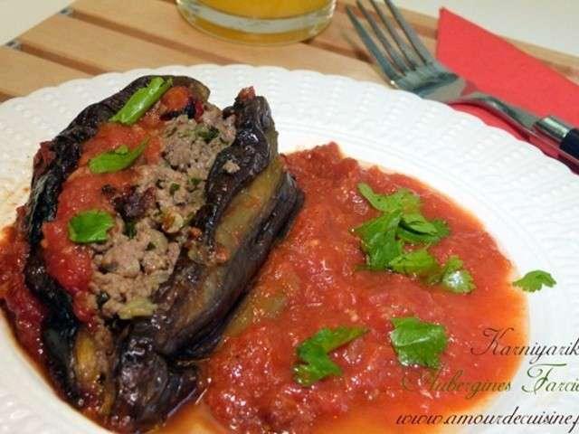 Recettes d 39 aubergines farcies 11 for Amour de cuisine chez lila