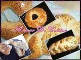 Khobz eddar ( pain de maison) a la farine de chez Mouni