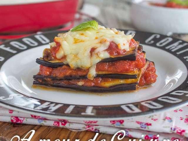 Recettes d 39 aubergines grill es et cuisine facile for Amour de cuisine chez lila