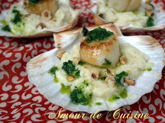 Recettes de fruits de mer et amuse bouche - Un amour de cuisine chez soulef ...