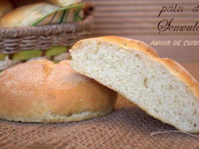 Recettes de semoule et boulangerie - Un amour de cuisine chez soulef ...