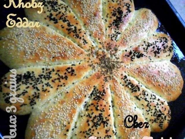 Recettes de khobz eddar de amour de cuisine chez soulef - Un amour de cuisine chez soulef ...