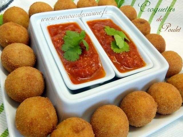 Les meilleures recettes de croquettes et poulet for Amour de cuisine chez soulef 2012