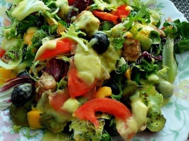 Recettes de salade au saumon de amour de cuisine chez soulef - Amour de cuisine chez soulef ...