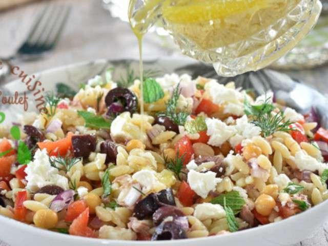 Recettes de salade vari e - Un amour de cuisine chez soulef ...
