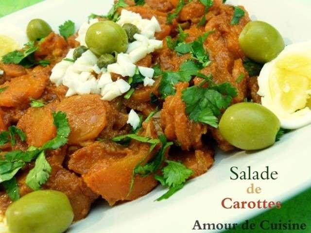Recettes de salade de carottes de amour de cuisine chez soulef for Amoure de cuisine chez ratiba