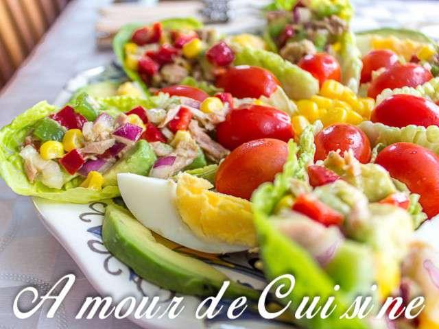 Recettes de salade compos e et thon for 1 amour de cuisine
