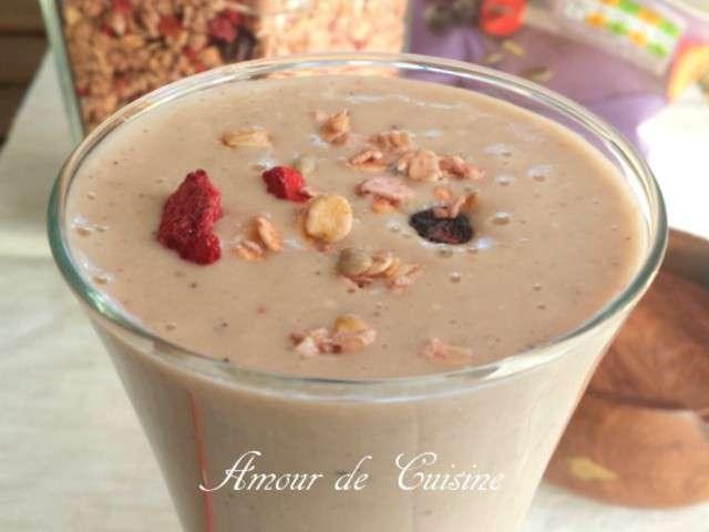 Recettes de smoothies et fruits 6 for 1 amour de cuisine chez soulef